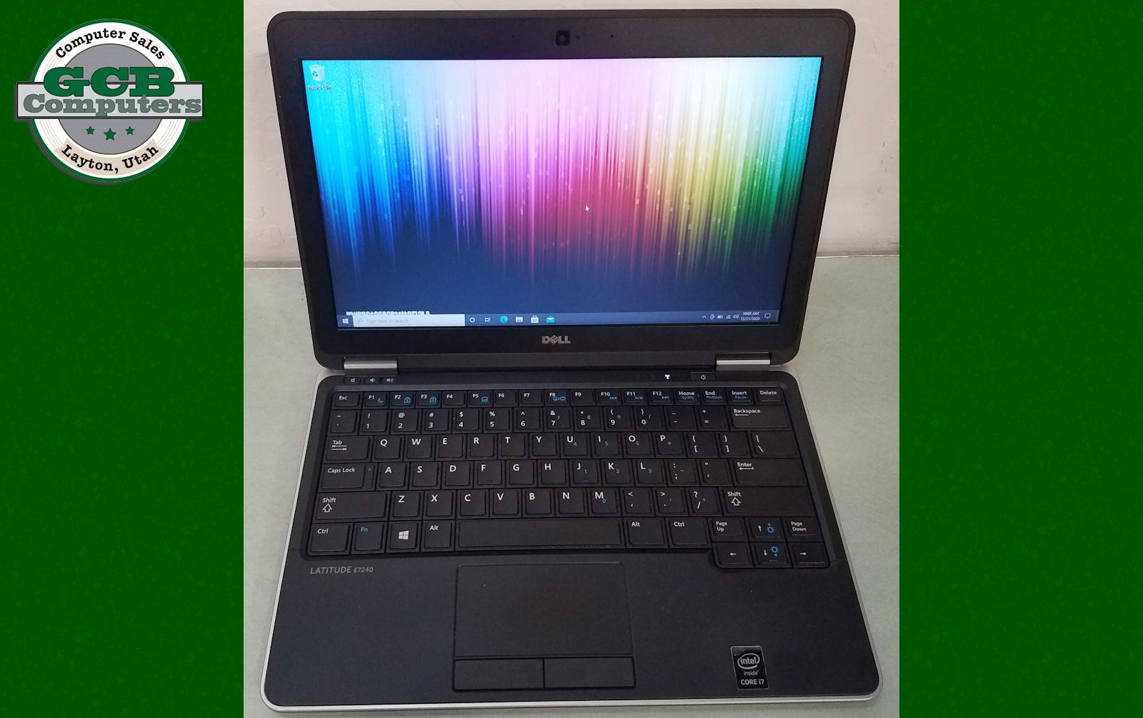 $200 Dell 7240 i7-4600U 256GB SSD 8GB RAM Webcam HDMI