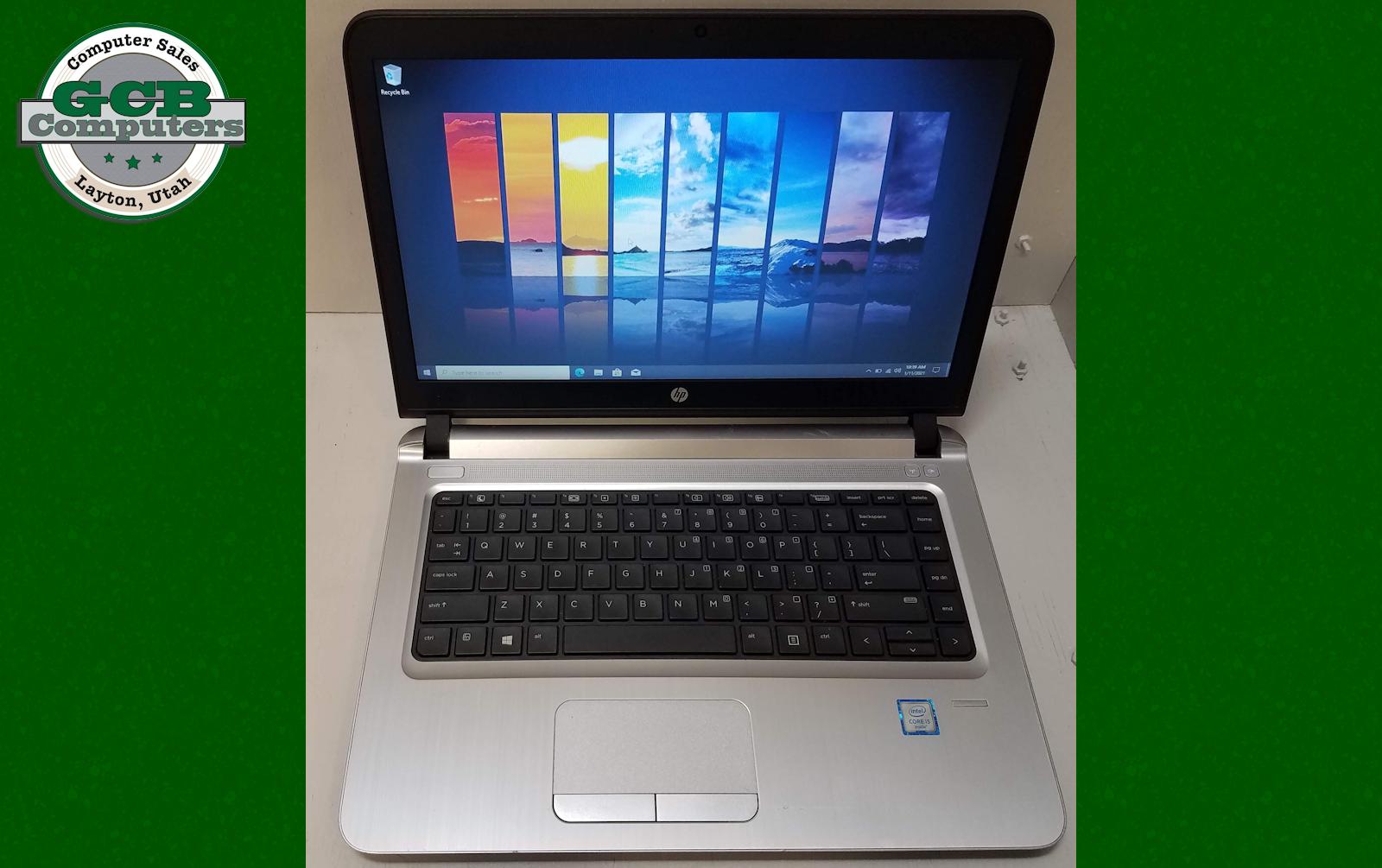 $260 HP ProBook 440 G3 i5-6200U 256GB SSD 8GB RAM