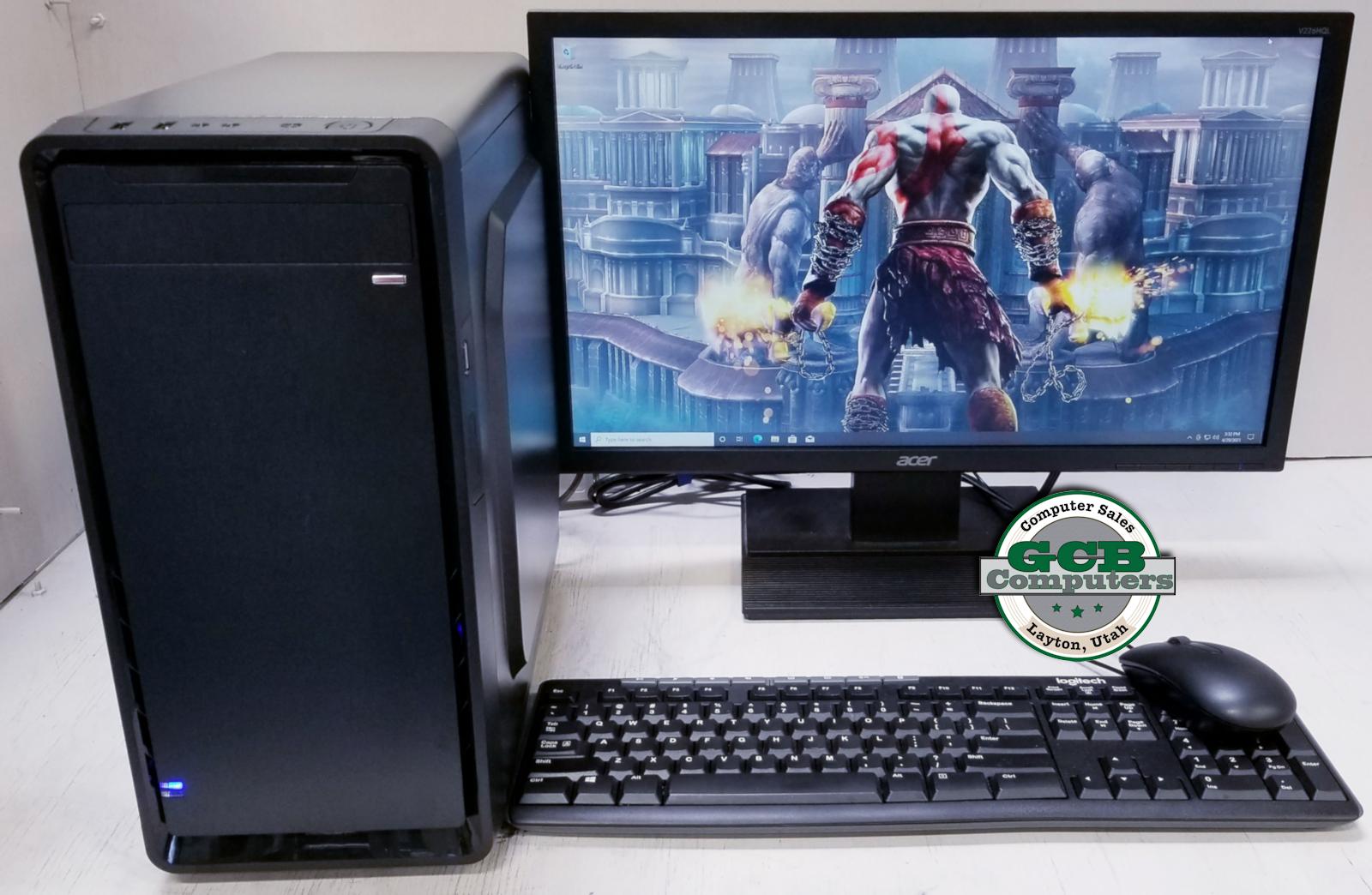 $500 Custom i7-2600 Gamer w/ GTX 1050Ti 1TB SSD 16GB RAM