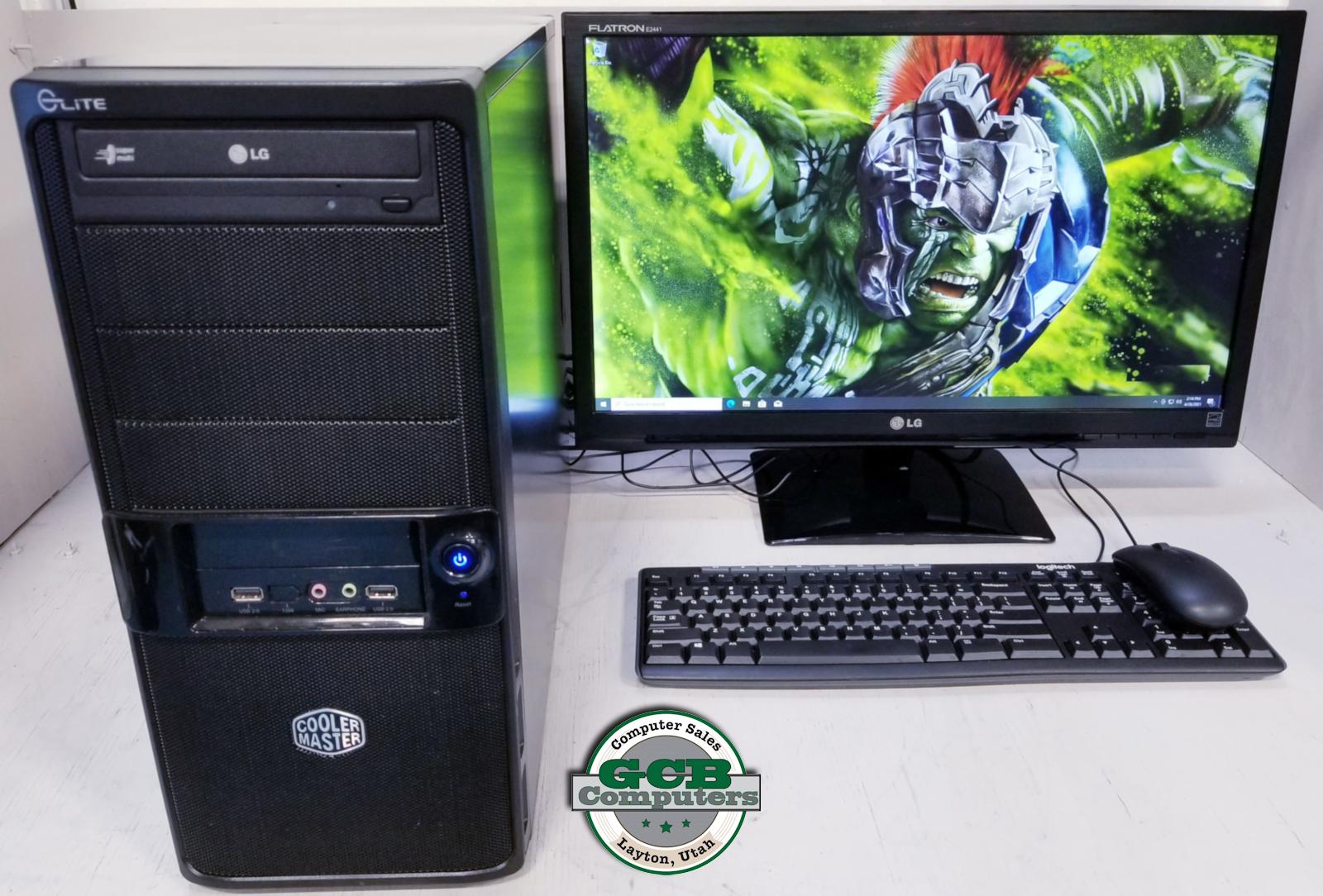 $420 Custom AMD FX w/ Radeon HD 7950 Gamer 250GB SSD 2TB HDD