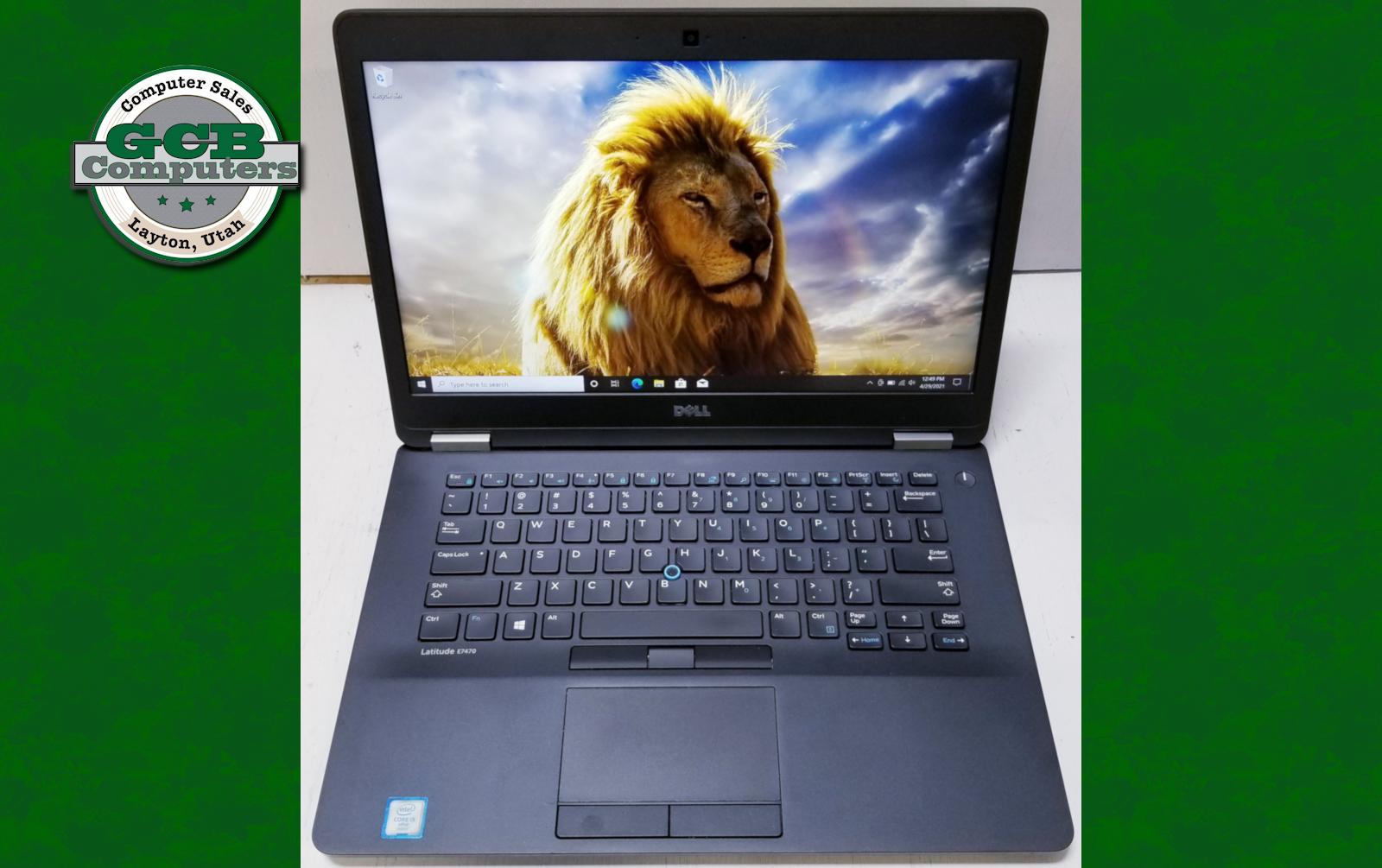 $200 Dell 7470 i5-6300U 256GB M.2 SSD 8GB RAM 1080P Screen