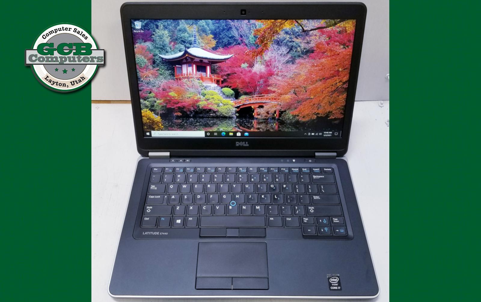 $220 Dell 7440 i7-4600U 256GB SSD 8GB RAM