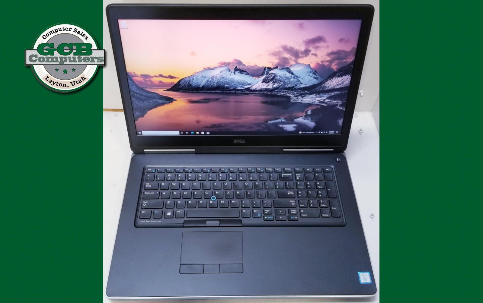 $460 Dell 7710 i7-6820HQ (Quad Core) 256GB SSD 500GB HDD 16GB RAM 1080p R9 M375X