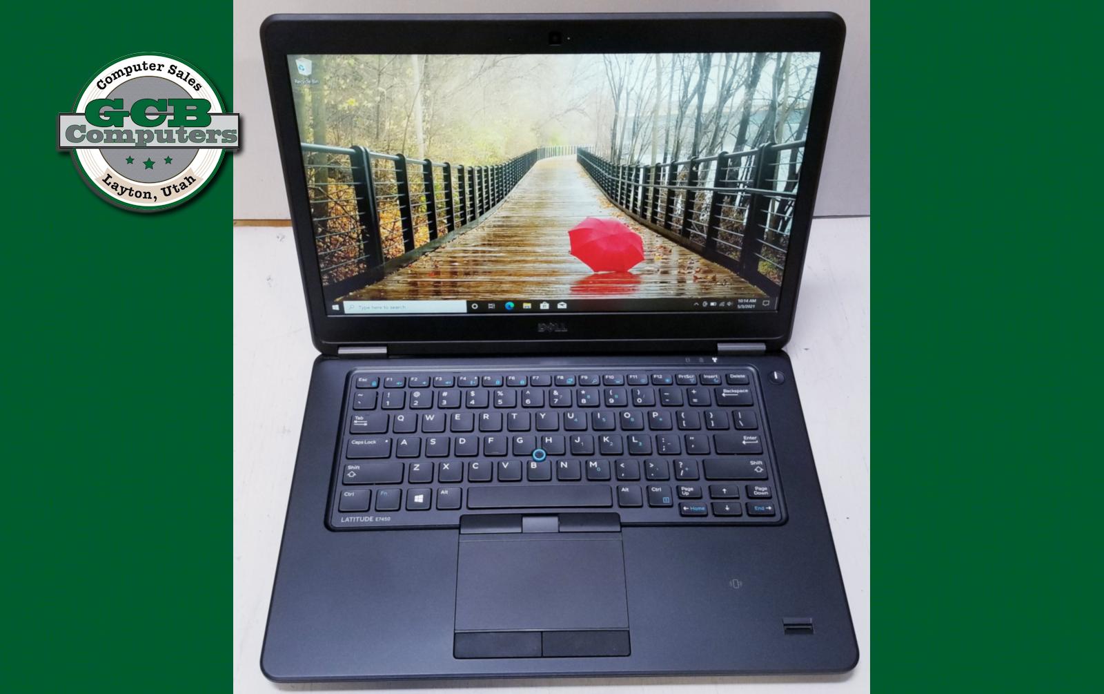 $200 Dell 7450 i5-5300U 256GB SSD 8GB RAM 1080p Screen