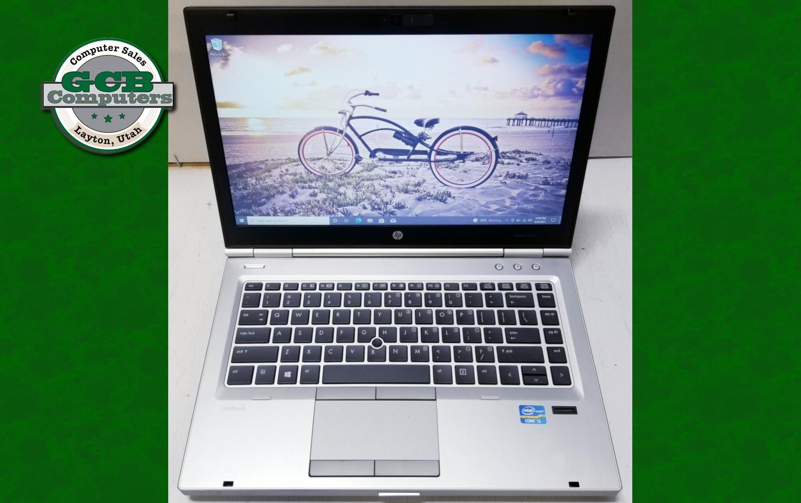 $120 HP EliteBook 8470p i5-3230M 120GB SSD 8GB RAM