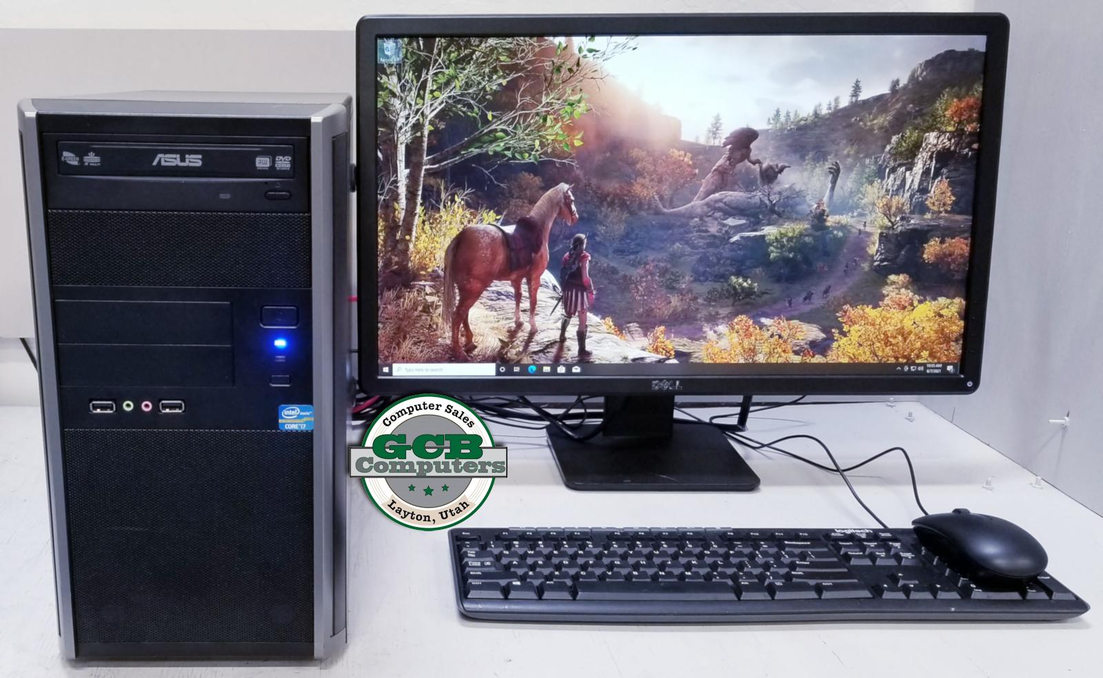 $360 Custom Gamer i7-3770 GTX 670 256GB SSD 2TB HDD 16GB RAM
