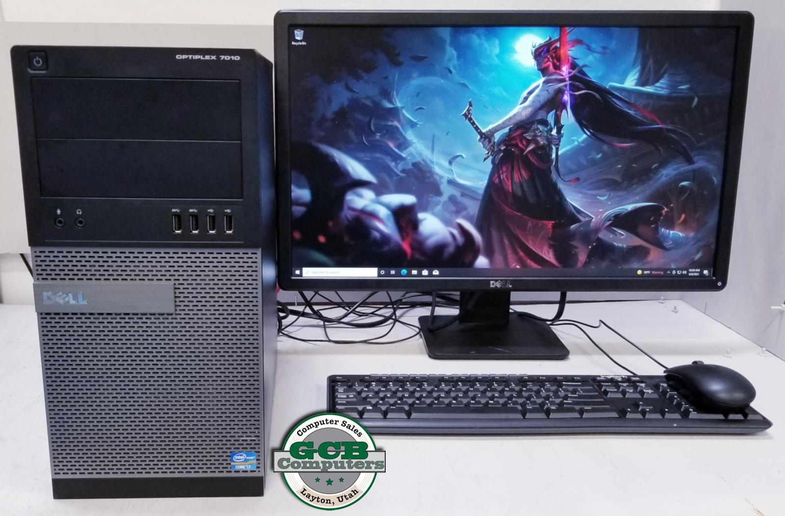 $300 Dell Gamer i7-3770 GTX 750Ti 256GB SSD 2TB HDD 16GB RAM