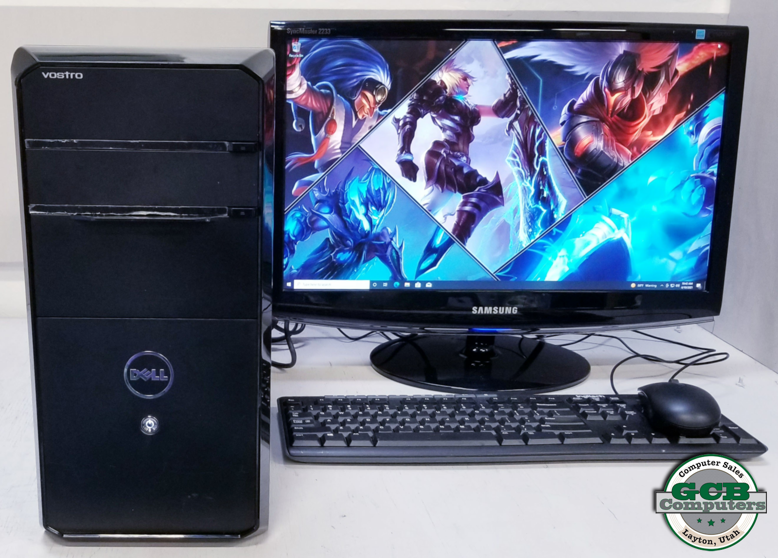 $220 Dell Vostro Light Gamer i7-2600 128GB SSD 1TB HDD 16GB RAM GTX 650