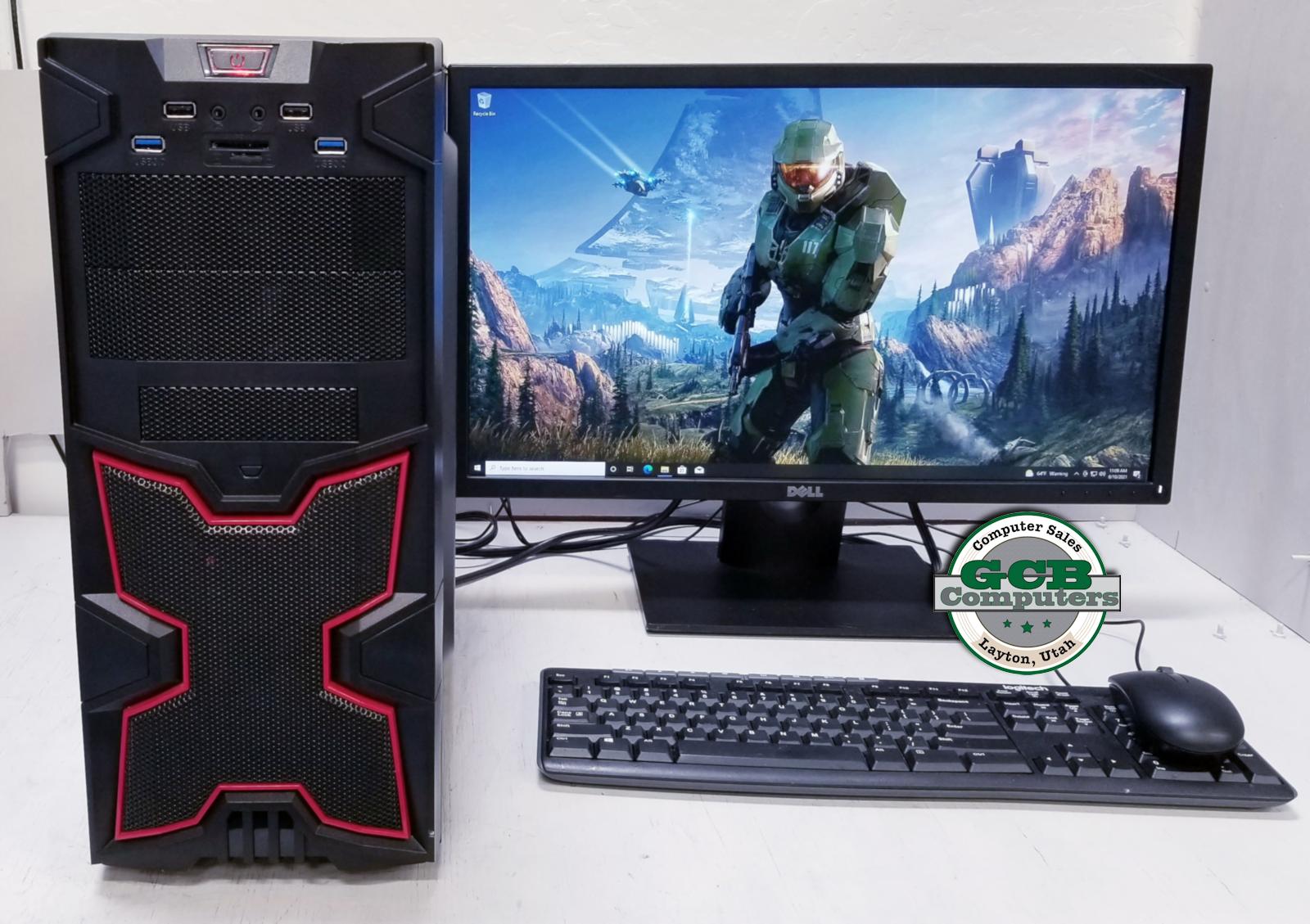 $440 Custom AMD FX-8350 Gamer 256GB SSD 2TB HDD 16GB RAM GTX 760