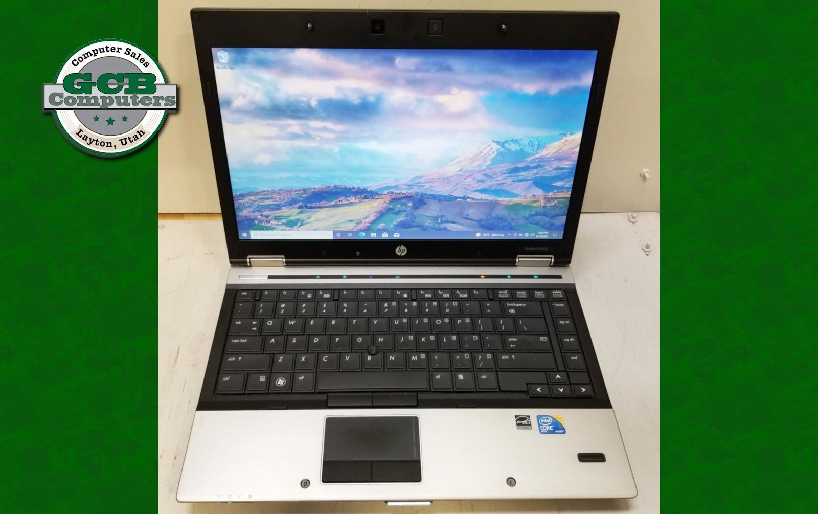 $100 HP Elitebook 8440p i5 M520 128GB SSD 8GB RAM