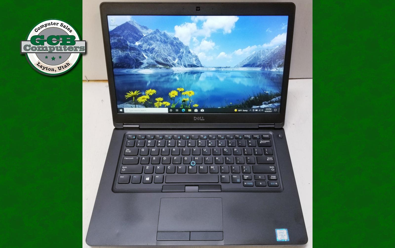 $400 Dell 5490 i5-8350U 256GB M.2 SSD 8GB RAM 1080p