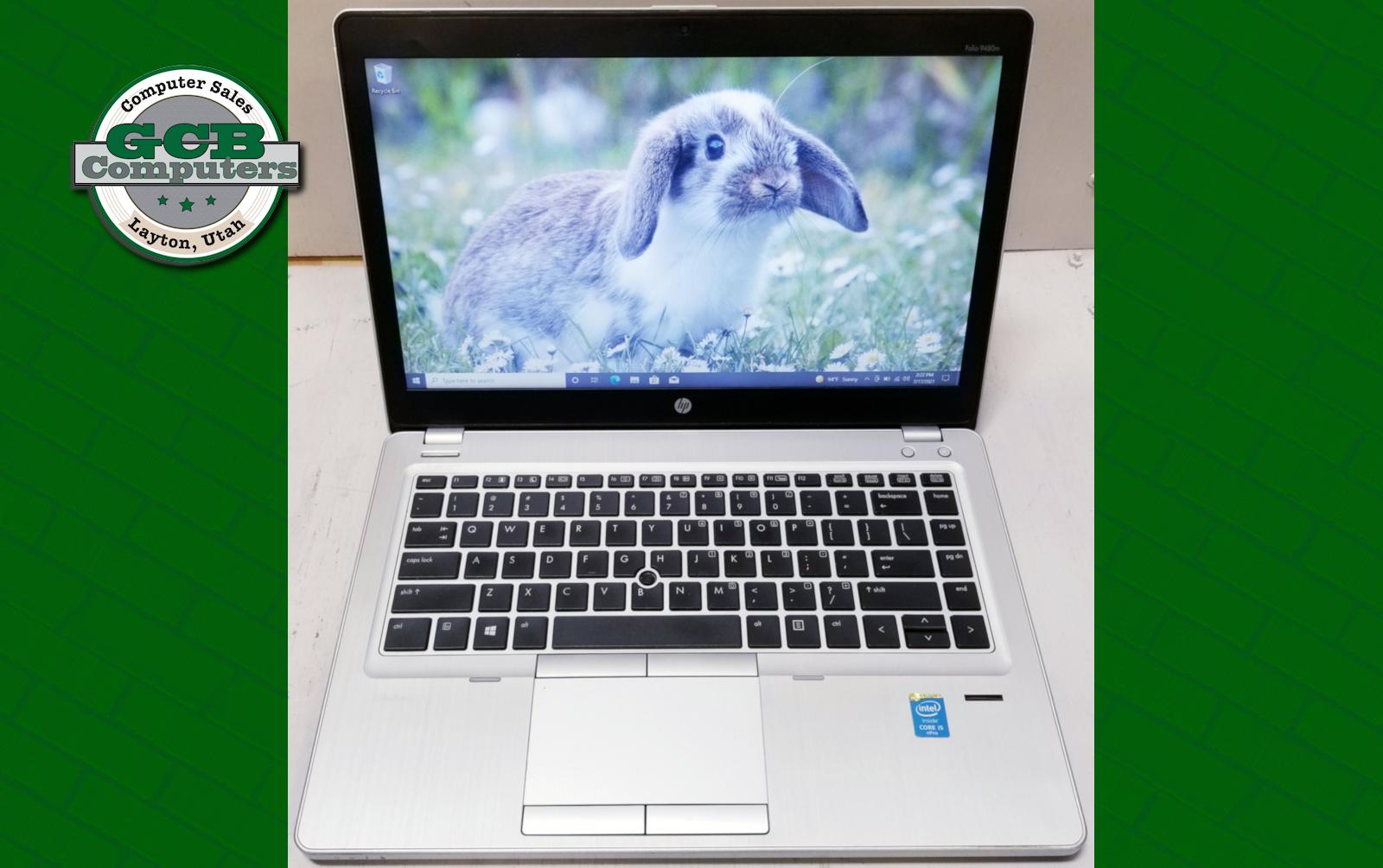 $160 HP EliteBook Folio 9480m i5-4310U 250GB SSD 8GB RAM