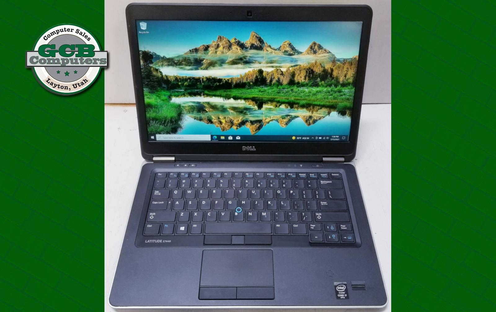 $220 Dell E7440 i7-4600U 256GB SSD 8GB RAM 1080p