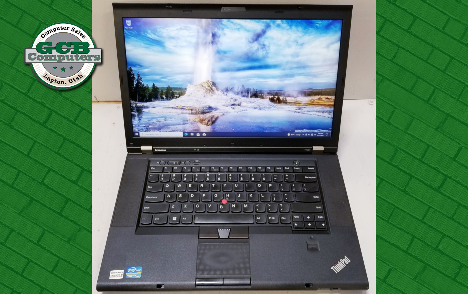 $150 Lenovo T530 i7-3520M 250GB SSD 8GB RAM