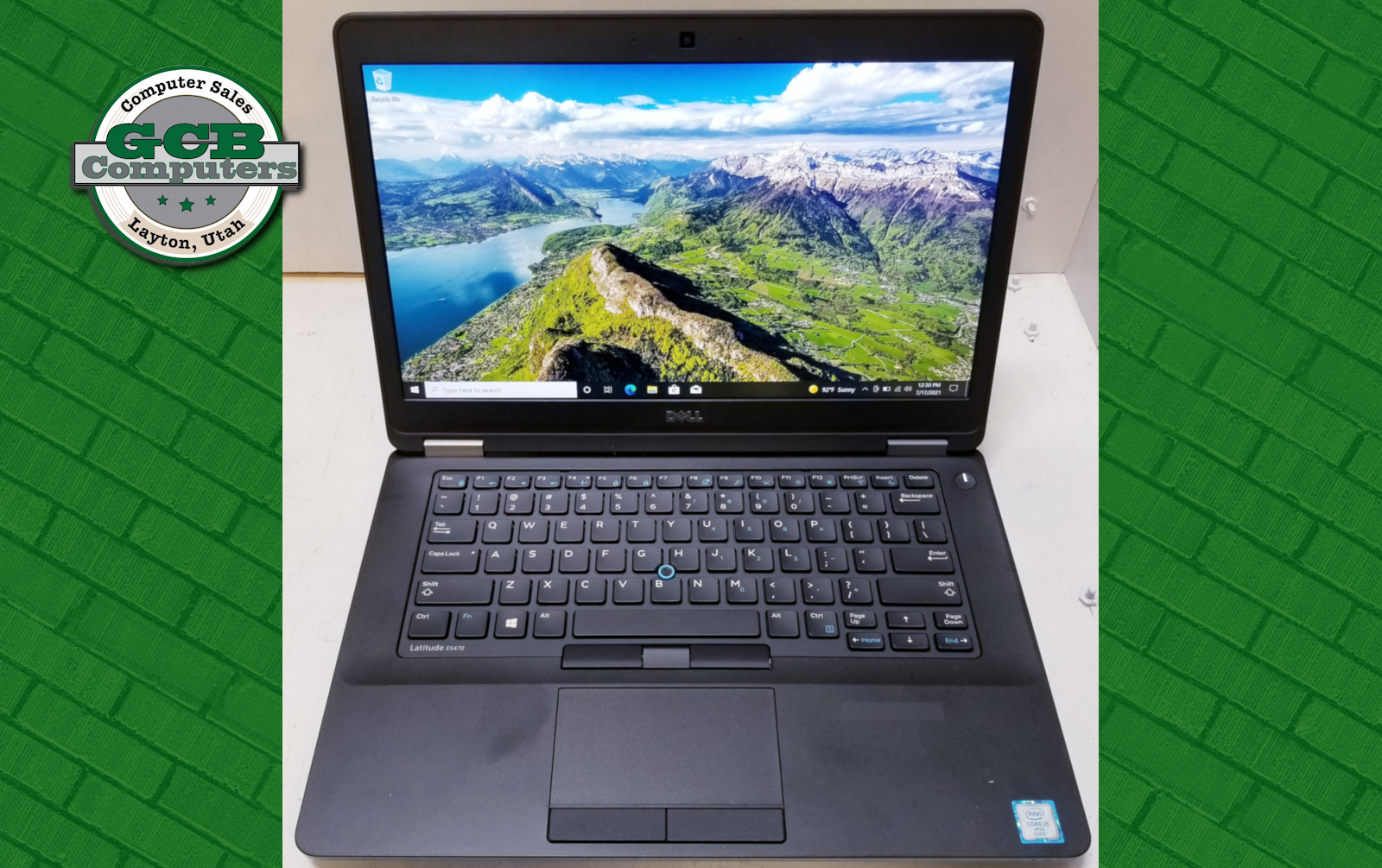 $180 Dell E5470 i5-6300U 250GB SSD 8GB RAM 1080p Screen
