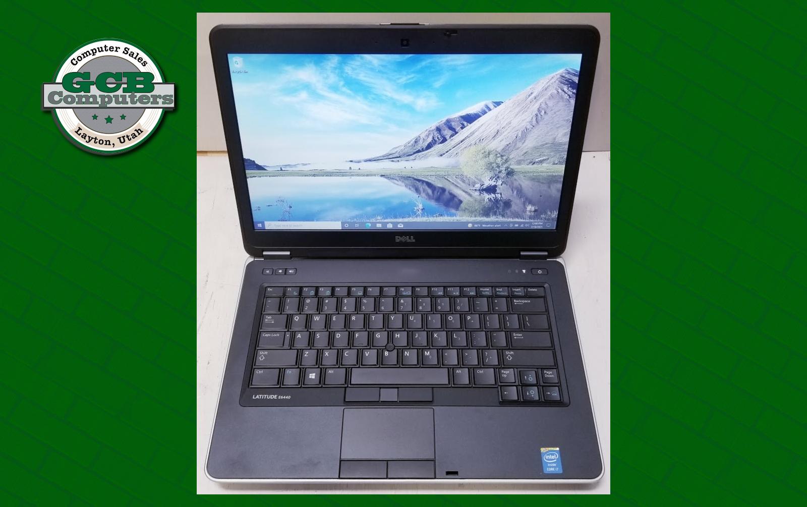 $180 Dell 6440 i7-4600M 256GB SSD 8GB RAM