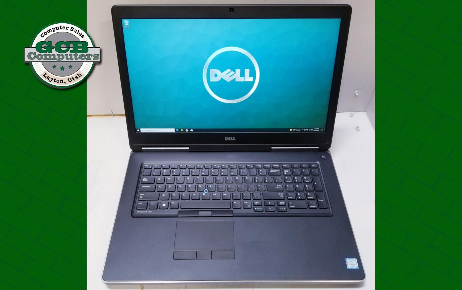 $680 Dell Precision 7720 Xeon E3-1545M 512GB SSD 750GB HDD 32GB RAM 1080p Quadro P3000