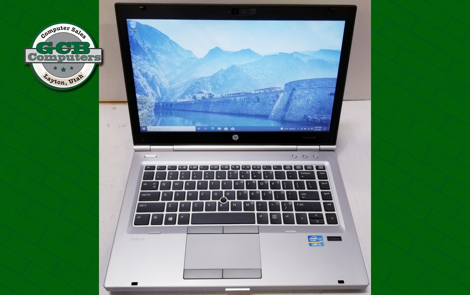 $120 HP EliteBook 8470p i5-3230M 128GB SSD 8GB RAM