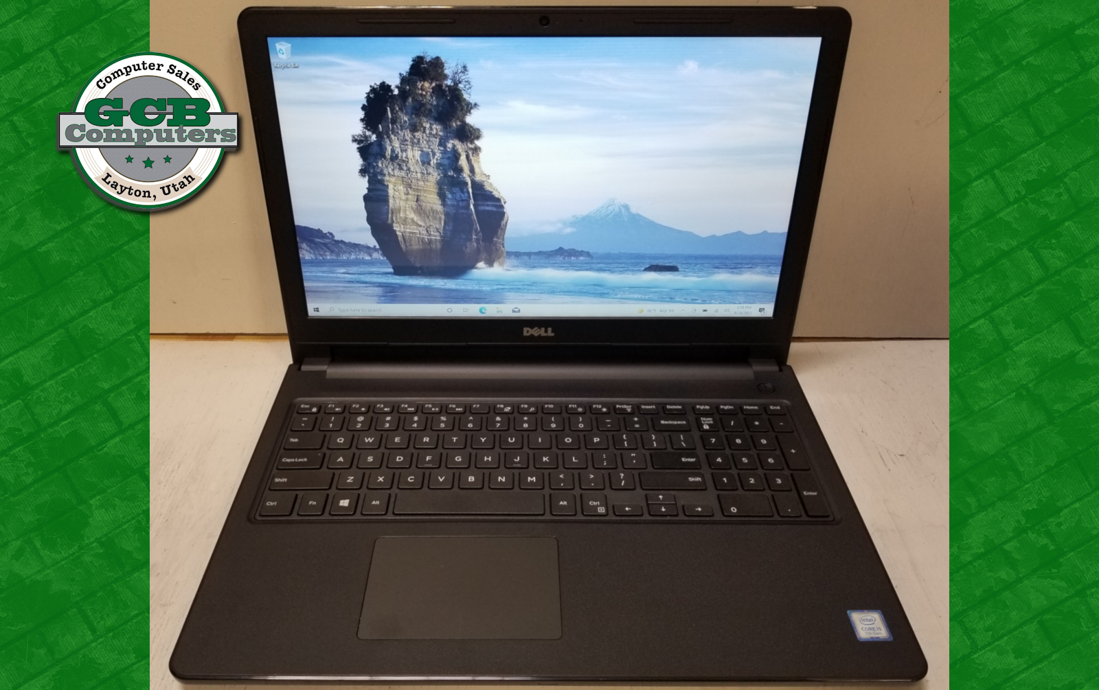$240 Dell 3567 i5-7200 256GB SSD 8GB RAM Touch Screen