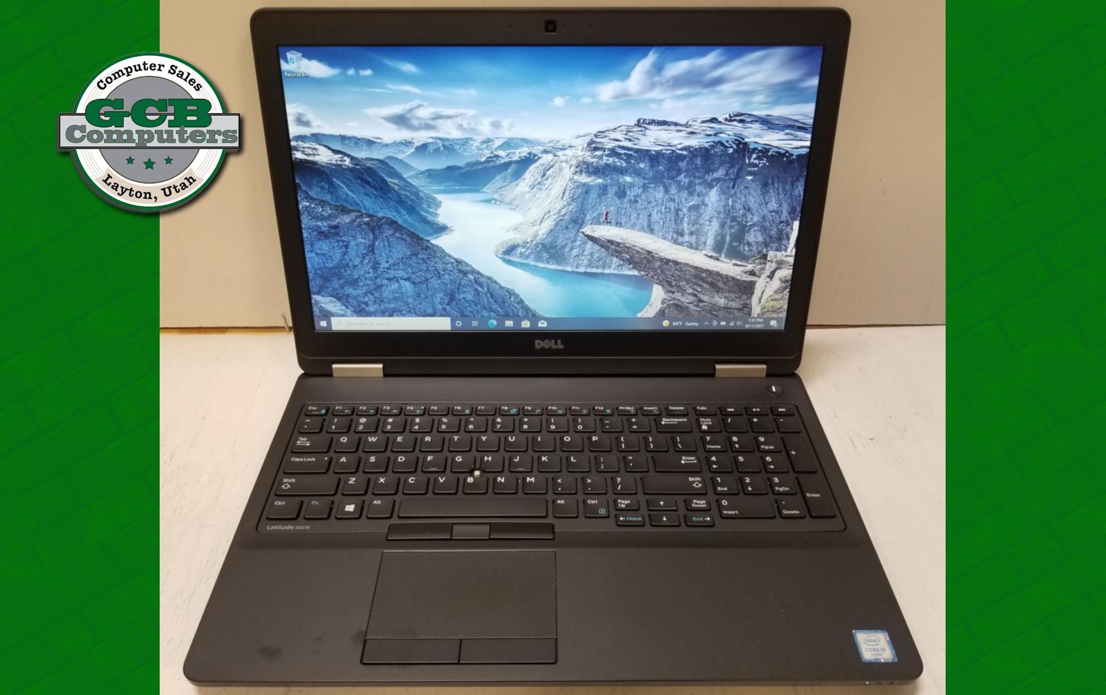 $250 Dell 5570 i5-6200U 256GB SSD 8GB RAM