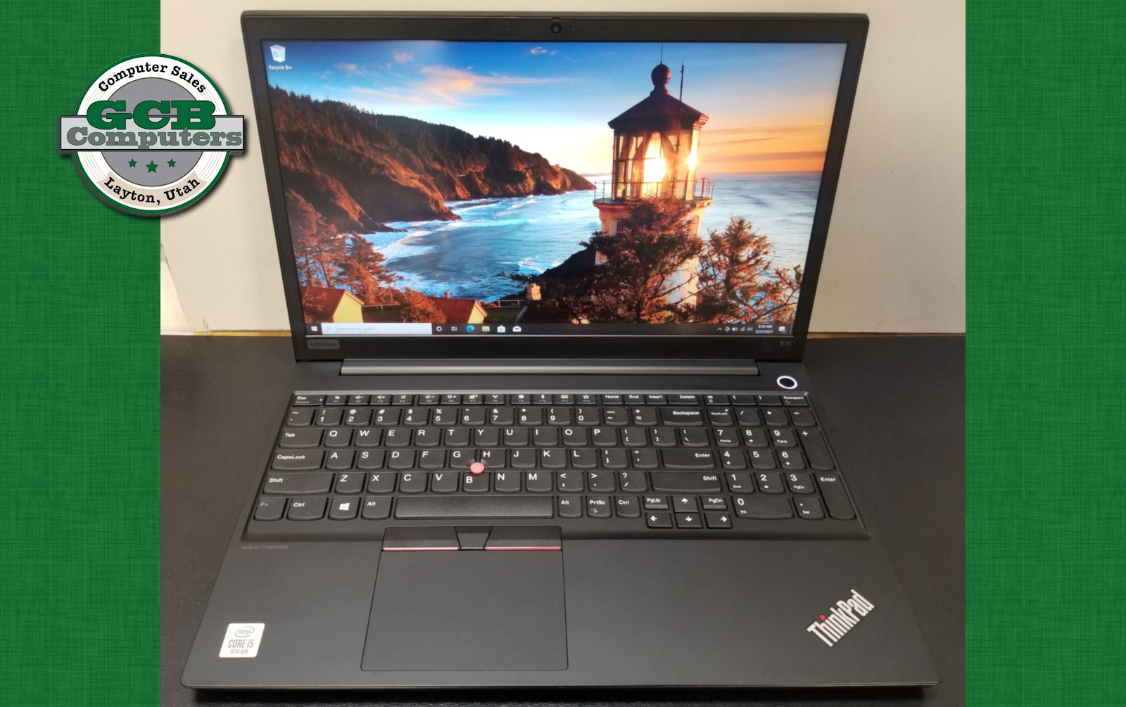 $420 Lenovo E15 i5-10210U 256GB SSD 8GB RAM 1080p