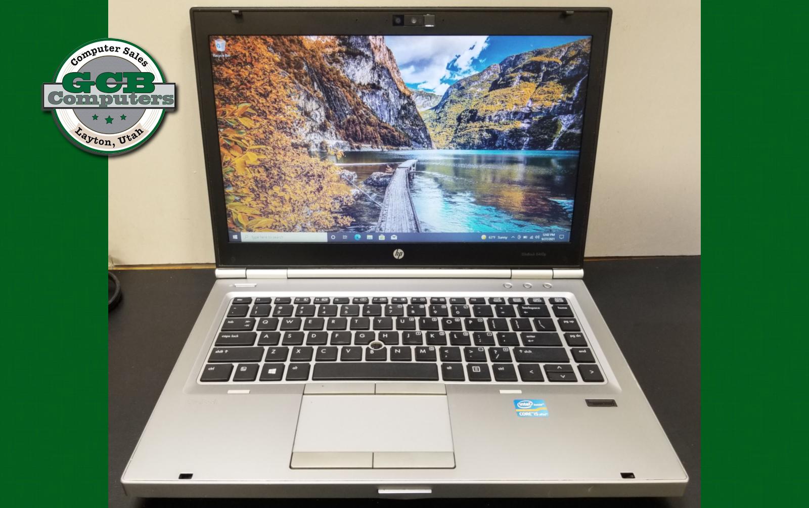 $80 HP 8460p i5-2520M 128GB SSD 8GB RAM