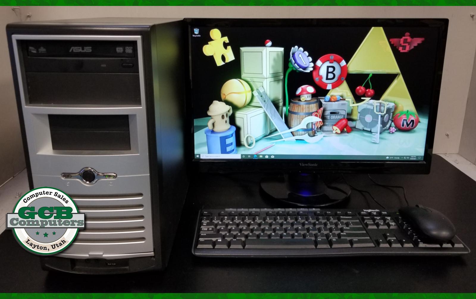 $380 Custom i7-2600 Gamer 256GB SSD 2TB HDD 16GB RAM GTX 670