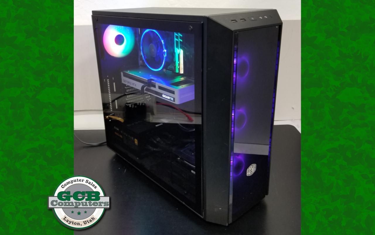 $1,800 Custom i7-10700K Gamer 500GB M.2 SSD 2TB HDD 16GB RAM RTX 3060
